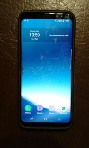 Vendo Samsung s8,1 semana de uso 64gb libre de fábrica