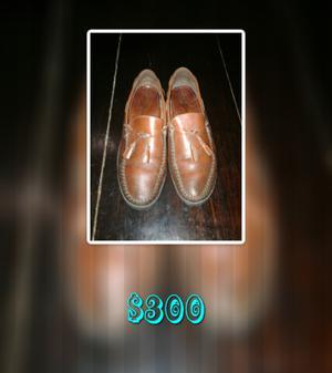 Zapato de cuero número 42