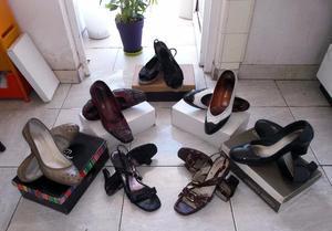 Zapatos de Taco Alto n°40