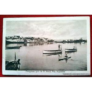 antigua postal de patagones provincia de buenos aires postal