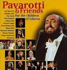 cd pavarotti & friends - for the children of liberia
