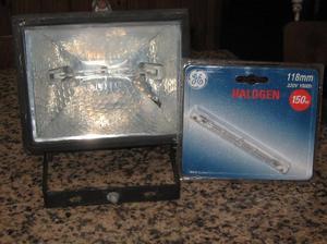 reflector proyector halogeno mas lampara de repuesto