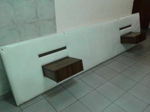 respaldo para cama de dos plazas