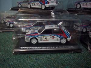 Autos de coleccion,Lancia delta,escala 1\43