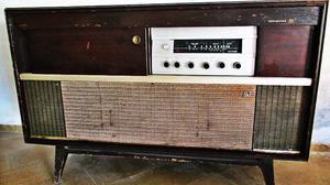 COMBINADO, RADIO TOCADISCOS KENBROWN + DISCOS DE VINILO