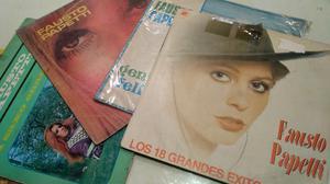 Discos vinilos lote de 4 discos Fausto Paetti
