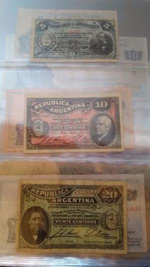 Excelente coleccion de monedas y billetes Argentinos