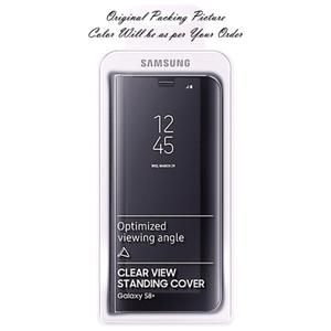FLIP COVER CLEAR VIEW CASE SAMSUNG S8 Y S8 + PLUS