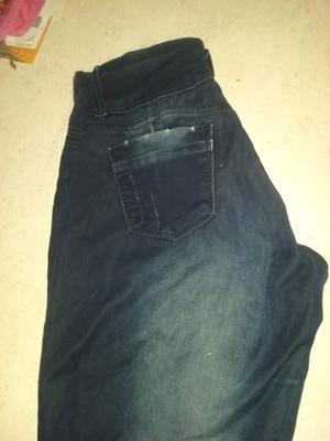 Jean azul elastizado