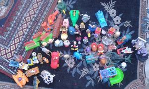 Lote de juguetes mac donald 59 piezas $