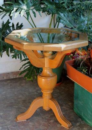 Mesa de comedor antigua de roble estilo tudor posot class - Mesas auxiliares antiguas ...