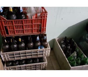 OFERTA !!!!! Botellas de cervezas vacias $ 850.-