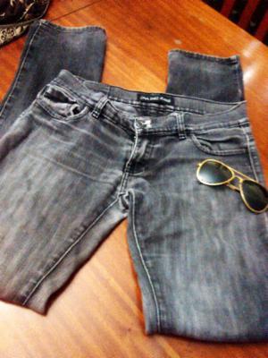 Pantalon de jean negro Ona Saez