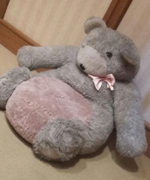 Puff / Fiaca Infantil Osa peluche grande de 60x50x40cm