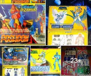 VENDO & COMPRO - Caballeros del Zodíaco (de los '90)