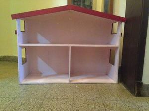 Vendo hermosa casita de muñecas y repisa