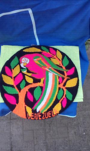 Vendo viejo tapiz de Venezuela