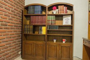 Bibliotecas roble modulares