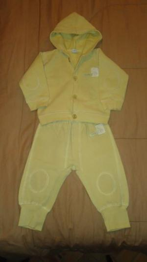 CONJUNTO CHEEKY BABY TALLE L (9 a 12 meses)- EXCELENTE