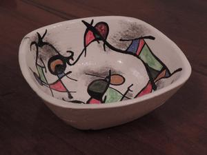 Cuenco de cerámica artesanal - Articulo NUEVO