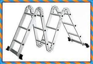 Escalera plegable de capital federal y gba posot class for Escaleras de aluminio usadas