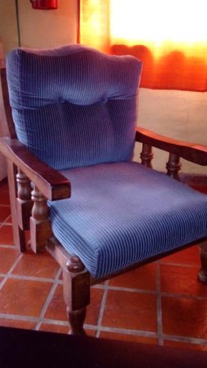 Hermosos sillones de algarrobo