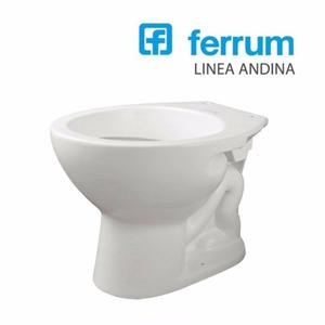 Inodoro ferrum linea andina posot class for Juego de bano ferrum andina