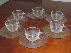 """Juego de café """"Durax"""" (6 platos y 6 tazas)"""