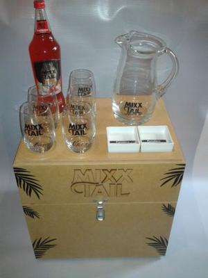 Kit Mixxtail - Combo Mixx Tail - Barra mesa caja