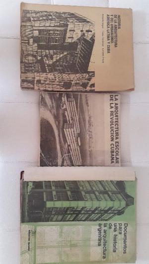 Libros sobre Arquitectura usados. $280 c/u.