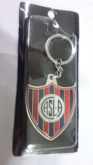 Llavero de metal de San Lorenzo