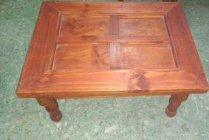 Mesa Ratona de madera.