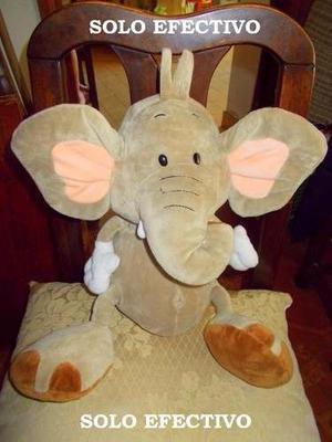 Peluches Hermosos!!! Combo Imperdible!! Perro Y Elefante