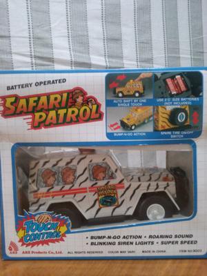 Safari patrol con luz sonido dos movimientos
