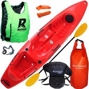 combo kayak rocker one completo, incluye todo lo de la foto