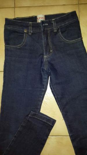 jean nena azul elastizado chupin t. 10 impecable