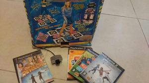 ALFOMBRA DE BAILE y EYE TOY PS2. IMPECABLE!