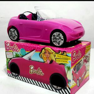 Auto de barbie original licencia matel con sticker