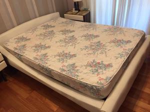 Cama 2 plazas y colchón