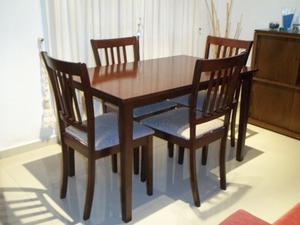 Comedor 4 sillas en Guatambú !! Flete sin cargo !!