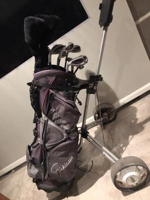 Juego completo de golf para zurdos