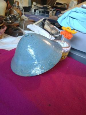 Lámpara de techo en cerámica celeste 0,23 diámetro