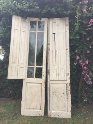 Puertas antiguas de cedro perfecto estado