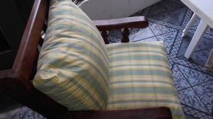 Vendo juego de sillones, sillon principal de tres cuerpos y