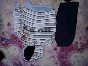 Vendo lote de ropa de bebe talle 1 2 y 3 es hasta los 6