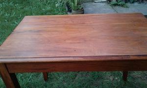 mesa estilo campo madera maciza