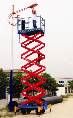 plataformas de eleevacion tipo tijera de 6 metros mas