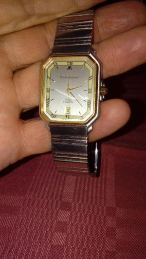 reloj suizo hombre, enchapado Oro.-