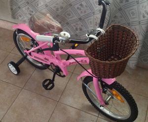 vendo bicicleta rod. 16 nueva...cel