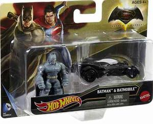 Auto Personaje Batman Batmobile Hot Wheels Superman Col Rdf1